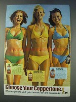 1978 Coppertone Shade, Suntan Lotion and Suntan Oil Ad