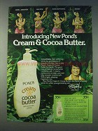 1978 Pond's Cream & Cocoa Butter Ad - Don Ho