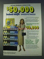 1978 Vaseline and Q-Tips Ad - $50,000 Sweepstakes