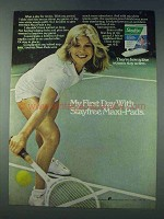 1978 Stayfree Maxi-Pads Ad - My First Day With