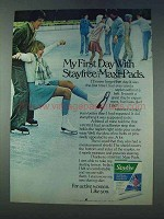 1978 Stayfree Maxi-Pads Ad - My First Day