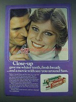 1978 Close-up Toothpaste Ad - Whiter Teeth