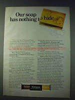 1978 Neutrogena Soap Ad - Has Nothing to Hide