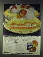 1978 Dream Whip Whipped Topping Ad - Berried Treasure