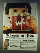 1978 Hi-C Drink Ad - Get a New Mug