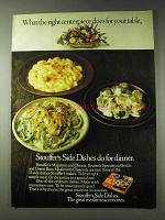 1978 Stouffer's Ad - Macaroni and Cheese