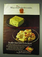 1978 Stouffer's Cauliflower au Gratin Ad