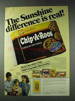 1978 Sunshine Chip A Roos Chocolate Chip Cookies Ad
