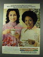 1978 General Foods International Coffees Ad - Luz Erdmann