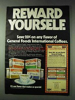 1978 General Foods International Coffees Ad