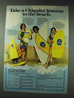 1978 Chiquita Bananas Ad - Take To The Beach