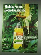 1978 Mazola Corn Oil Ad - Made by Nature