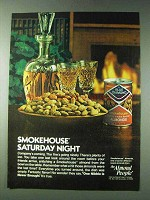 1978 Blue Diamond Smokehouse Almonds Ad - Saturday