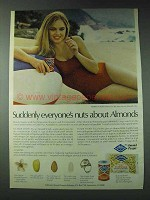 1978 Blue Diamond Almonds Ad - Suddenly Everyone's Nuts