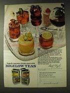 1978 Bigelow Teas Ad - Superb Summer Drinks Start With