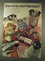 1978 Mars Milky Way, Snickers, 3 Musketeers Candy Ad