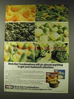 1978 Birds Eye Combinations Ad - Attention