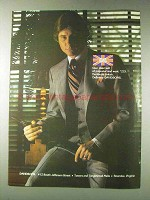 1978 Davidsons Daks Glen Plaid Suit Ad