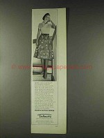 1978 Talbots Frog Print Reversible Wrap Skirt Ad