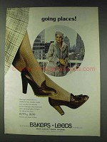 1978 Bakers Leeds Shoes Ad - Going Places