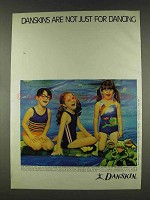 1978 Danskin Girl Swimsuits Ad - Not Just for Dancing