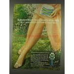 1978 Hanes Summer Sheer Pantyhose Ad - Beauty Offer