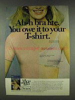1978 Sears Ah-h Bra Lite Ad - Owe Your T-Shirt