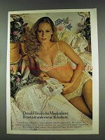 1978 Maidenform Donald Brooks Bra and Bikini Ad
