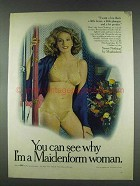 1978 Maidenform Sweet Nothings Bra and Bikini Ad