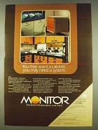 1978 Monitor Cabinet System Ad - You May Need
