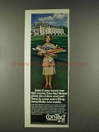 1978 Con-Tact A-21 Self-adhesive Backing Ad