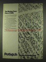 1978 Potlatch Corporation Ad - The Working Trees