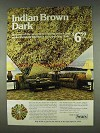 1978 Sears Rainbow Radiance Carpet Ad - Indian Brown
