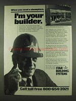 1978 Star Building Systems Ad - I'm Your Builder