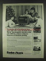 1978 Radio Shack TRS-80 Computer Ad - Priceless Gift