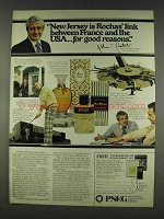 1978 PSE&G Ad - New Jersey is Rochas' Link