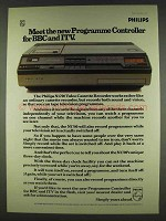 1978 Philips N1700 VCR Ad - Programme BBC ITV