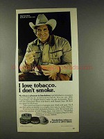 1978 Skoal, Happy Days Tobacco Ad - Walt Garrison