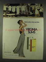 1978 Virginia Slims Cigarettes Ad - Wife One Day a Week