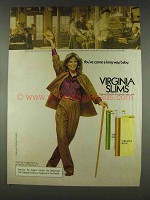 1978 Virginia Slims Cigarettes Ad - Business World