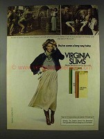 1978 Virginia Slims Cigarettes Ad - Miss Loeb Hid