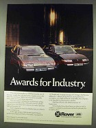 1978 Rover 2600 and 3500 cars Ad - Awards for Industry