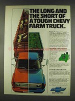 1978 Chevy Trucks Ad - Long and Short of Farm Truck