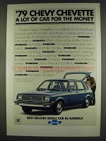 1979 Chevy Chevette Ad - A Lot for the Money