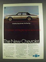 1979 Chevy Caprice Ad - America Has Driven to the Top