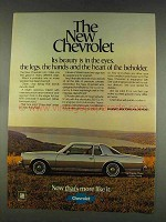 1978 Chevy Caprice Classic Landau Coupe Ad - Beauty