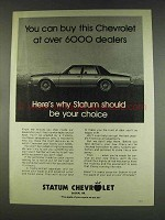 1978 Statum Chevrolet Ad - Buy at Over 6000 Dealers