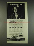 1978 Thrifty Rent-a-car ad - Relax. I'll Save You