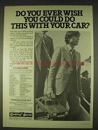 1978 Godfrey Car Rental Ad - Do This With Your Car