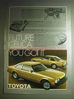 1978 Toyota Celica GT and ST Sport Coupe Ad